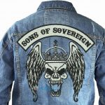 Denim-Jacket-mc-motorcycleclub-centerpatch-top-rocker-Large-patch-back-patch-Jackets-patch-Vest-patch