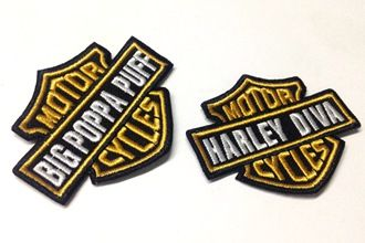 Harley-davidson-patches
